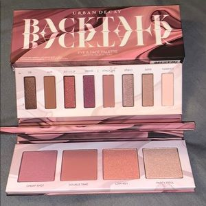 Urban Decay backtalk eye & face palette NWT